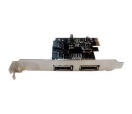 Unitek PCI Express Kontroler 2x SATA III (PCI-E-SATA3-2I2E)