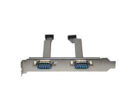 Unitek Śledź z 2 portami RS-232 (2S BRACKET)