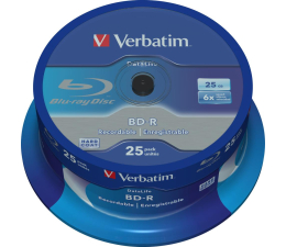 Verbatim BluRay 6x 25GB DataLife cake 25 szt (43837)