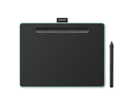 Wacom Intuos BT M Pen i Bluetooth pistacjowy  (CTL-6100-WLE)