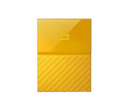 WD My Passport 2TB żółty USB 3.0 (WDBS4B0020BYL-WESN)