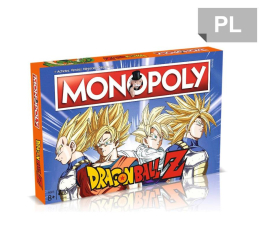 Winning Moves Monopoly Dragonball Z Poland  (5036905003001)