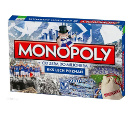 Winning Moves Monopoly Lech Poznań (5036905024983)