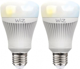 WiZ Whites LED (E27/806lm) 2szt. (WZ0126072)