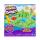 Zabawka plastyczna / kreatywna Spin Master Piasek Kinetyczny zielony pojemnik + foremki