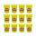 Play-Doh Ciastolina Tuby uzupełniające 12-pak żółty - 1009245 - zdjęcie