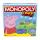 Gra planszowa / logiczna Hasbro Monopoly Świnka Peppa