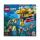 Klocki LEGO® LEGO City 60264 Łódź podwodna badaczy oceanu