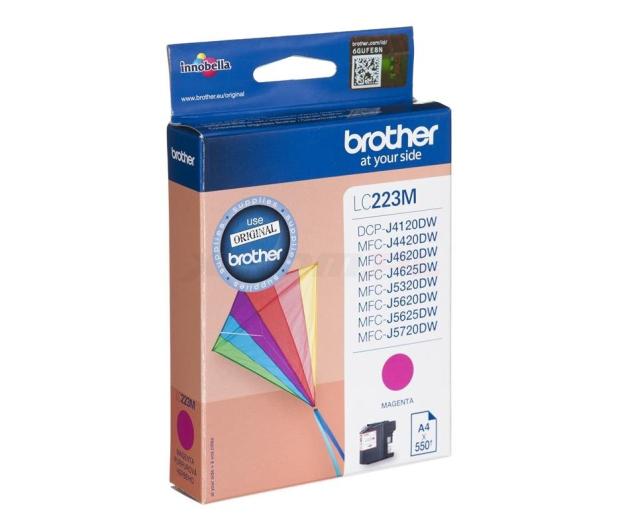 Brother LC223M magenta 550 str. - 213020 - zdjęcie 2