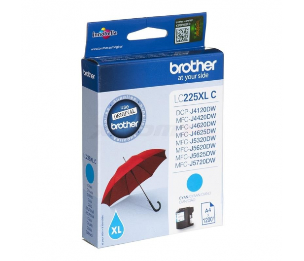 Brother LC225XLC cyan 1200 str. - 213026 - zdjęcie 2