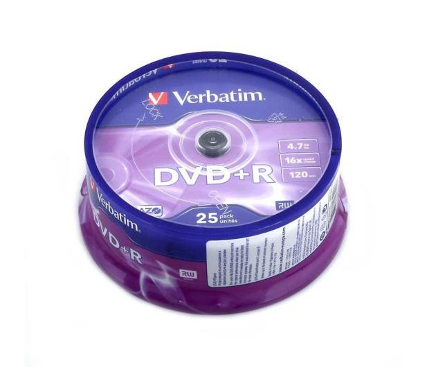 Verbatim 4.7GB 16x (AZO) CAKE 25szt. - 28938 - zdjęcie