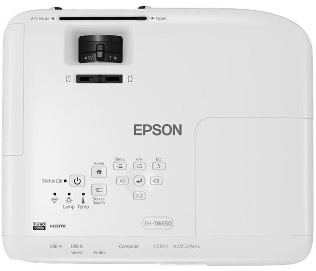 Epson EH-TW650 3LCD - 387156 - zdjęcie 5