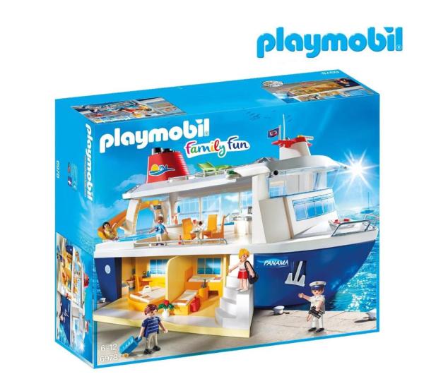 PLAYMOBIL Statek wycieczkowy - 388683 - zdjęcie