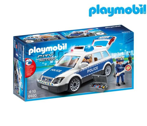 PLAYMOBIL Radiowóz policyjny - 299428 - zdjęcie