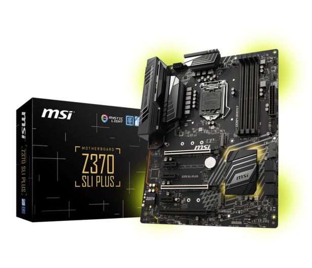 MSI Z370 SLI PLUS - 384544 - zdjęcie