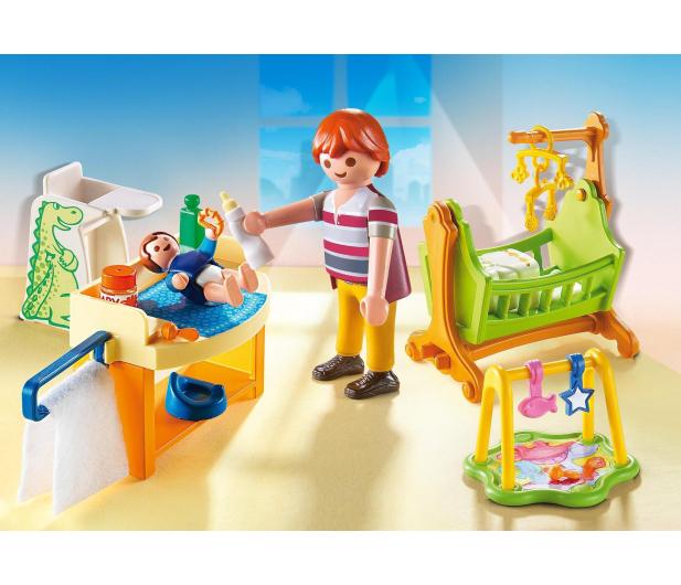 PLAYMOBIL Pokój dla niemowlaka z łóżeczkiem - 386219 - zdjęcie 3
