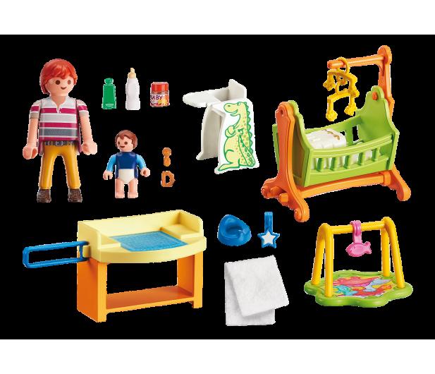 PLAYMOBIL Pokój dla niemowlaka z łóżeczkiem - 386219 - zdjęcie 5