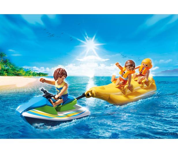 PLAYMOBIL Jet Ski z bananową łódką - 386399 - zdjęcie 4