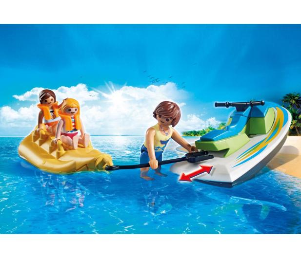 PLAYMOBIL Jet Ski z bananową łódką - 386399 - zdjęcie 5
