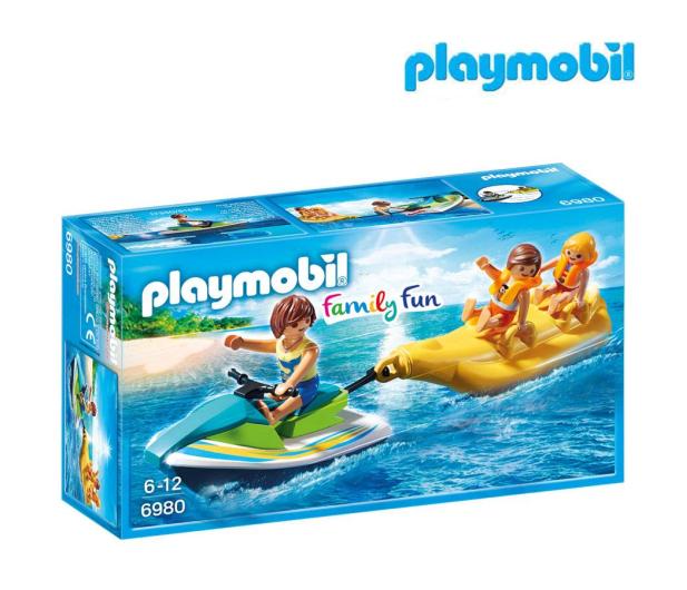 PLAYMOBIL Jet Ski z bananową łódką - 386399 - zdjęcie