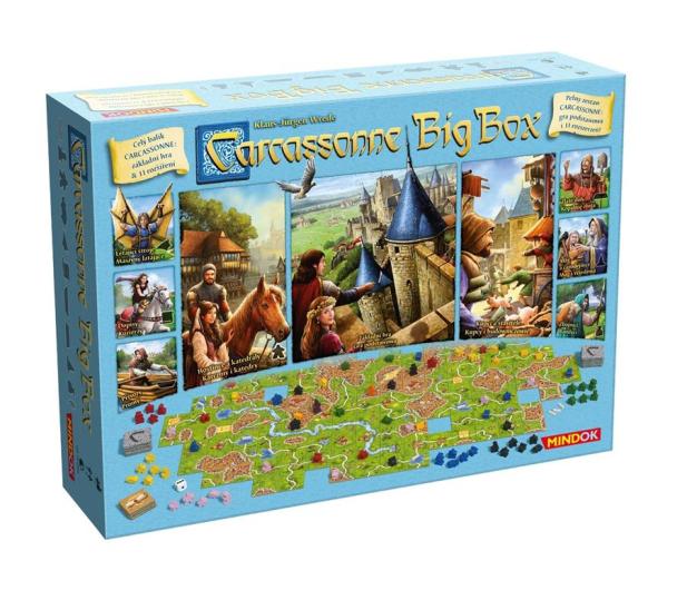 Mindok Carcassonne Big Box 6  - 386452 - zdjęcie 2