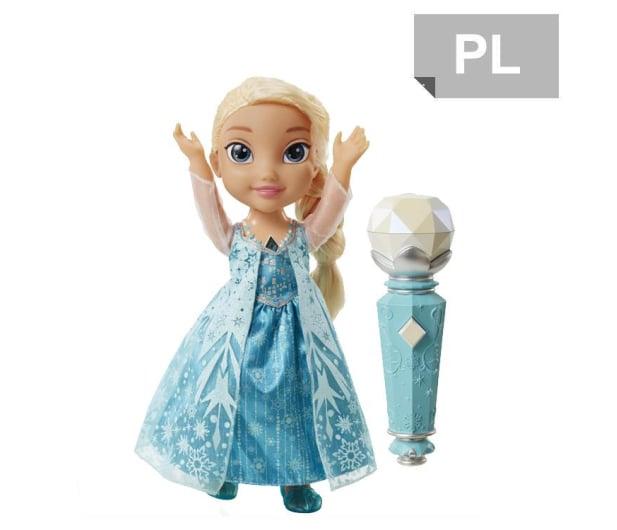 Jakks Pacific Disney Frozen Śpiewająca Elsa z mikrofonem - 272739 - zdjęcie