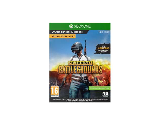 Xbox Playerunknown's Battlegrounds (PUBG) - 393364 - zdjęcie
