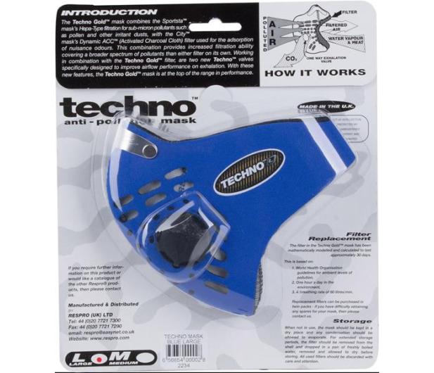 Respro Techno Blue M - 394033 - zdjęcie 10