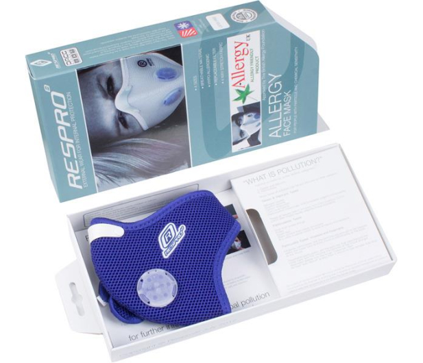 Respro Allergy Mask Blue S - 394024 - zdjęcie 10