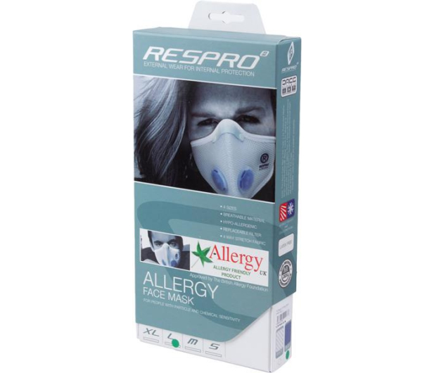 Respro Allergy Mask Blue S - 394024 - zdjęcie 11