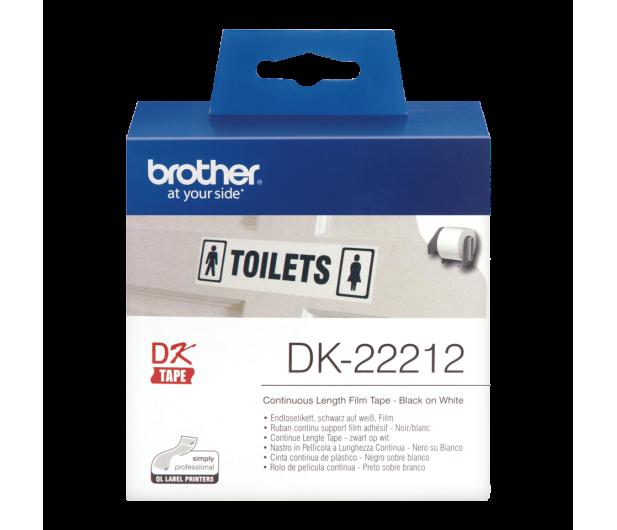 Brother Taśma ciągła foliowa 62mm (DK22212) - 393708 - zdjęcie 2