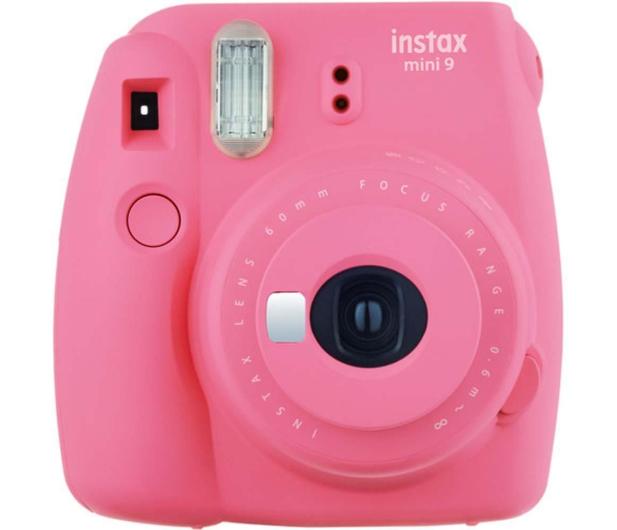 Fujifilm Instax Mini 9 różowy + wkład 10PK + pokrowiec - 393614 - zdjęcie 2