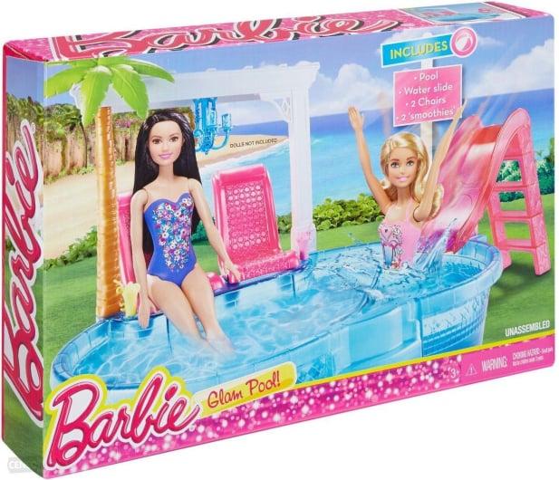 Barbie Basen ze zjeżdżalnią - 395045 - zdjęcie 2