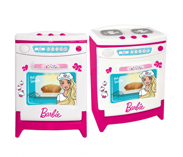 Wader Dolu Barbie Piekarnik z dźwiękiem + akcesoria  - 391044 - zdjęcie 2