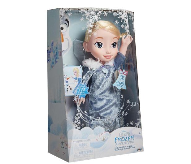 Jakks Pacific Disney Frozen Kraina Lodu Śpiewająca Elsa - 392158 - zdjęcie 5