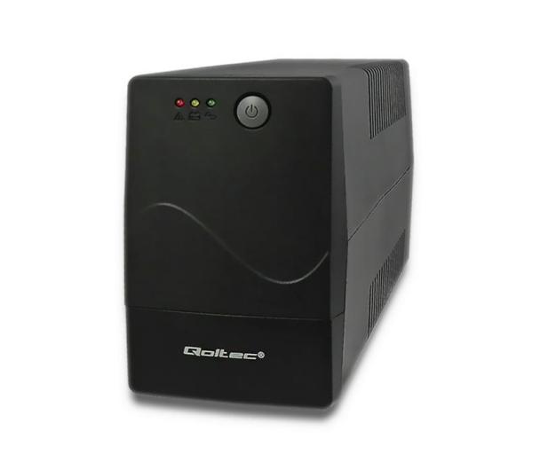Qoltec Monolith (850VA/480W, 2xPL, AVR) - 397369 - zdjęcie