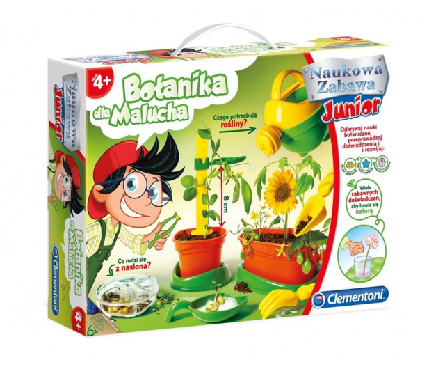 Clementoni Botanika dla Malucha  - 323056 - zdjęcie