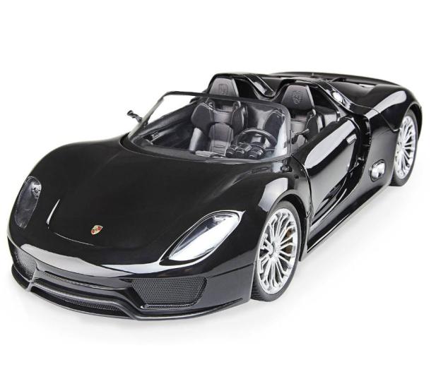 Mega Creative Samochód Porsche RC czarny - 398295 - zdjęcie
