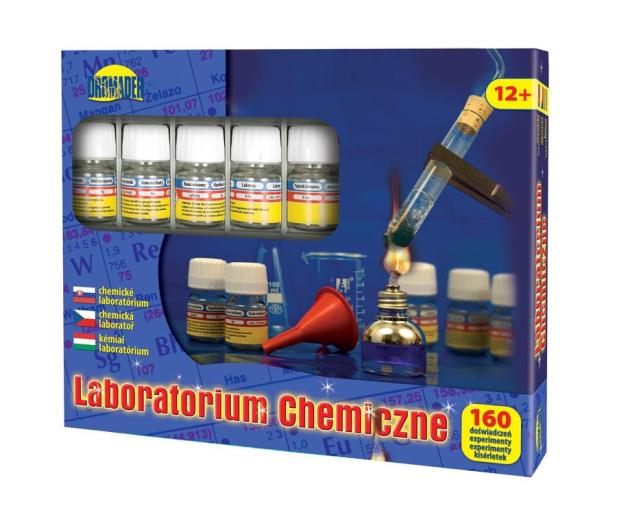 Dromader Laboratorium Chemiczne Mały Chemik 160 doświadczeń - 155561 - zdjęcie 2