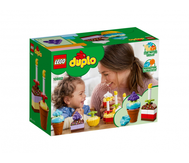 LEGO DUPLO Moje pierwsze przyjęcie - 395108 - zdjęcie 2
