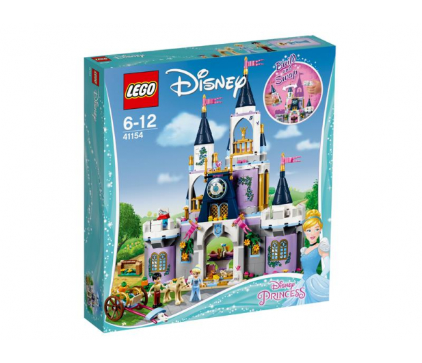 LEGO Disney Wymarzony zamek Kopciuszka - 393886 - zdjęcie
