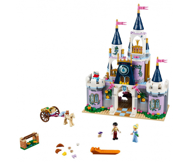 LEGO Disney Wymarzony zamek Kopciuszka - 393886 - zdjęcie 2