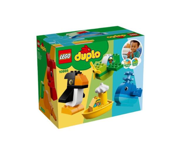 LEGO DUPLO Wyjątkowe budowle - 395111 - zdjęcie
