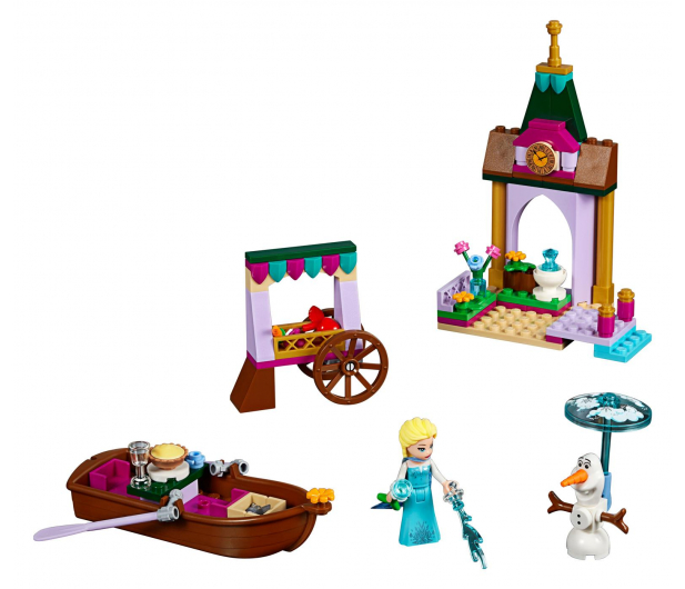 LEGO Disney Przygoda Elzy na targu - 393887 - zdjęcie 2