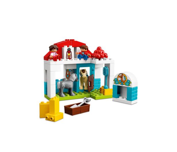 LEGO DUPLO Stajnia z kucykami - 395113 - zdjęcie 3
