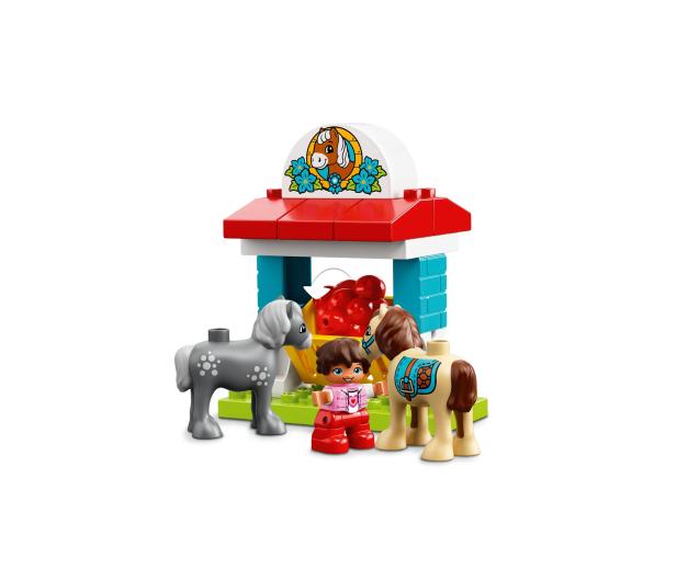 LEGO DUPLO Stajnia z kucykami - 395113 - zdjęcie 5