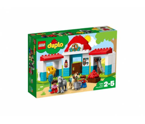 LEGO DUPLO Stajnia z kucykami - 395113 - zdjęcie