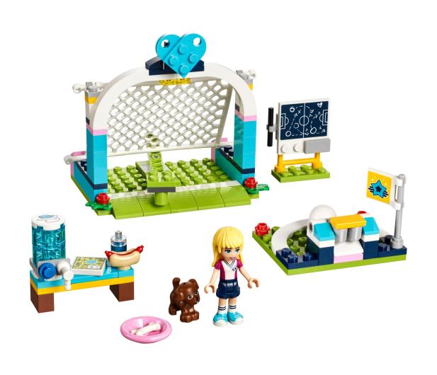 LEGO Friends Trening piłkarski Stephanie - 395123 - zdjęcie 2