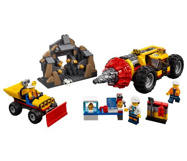 LEGO City Ciężkie wiertło górnicze - 394062 - zdjęcie 2