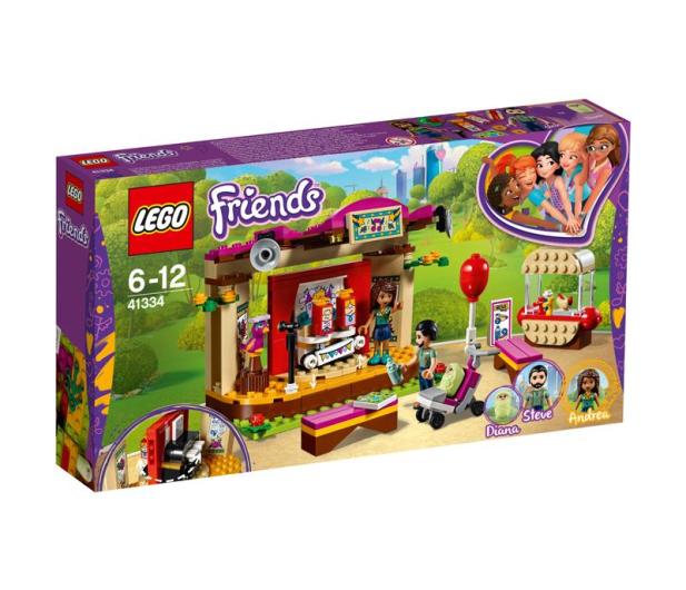 LEGO Friends Pokaz Andrei w parku - 395126 - zdjęcie